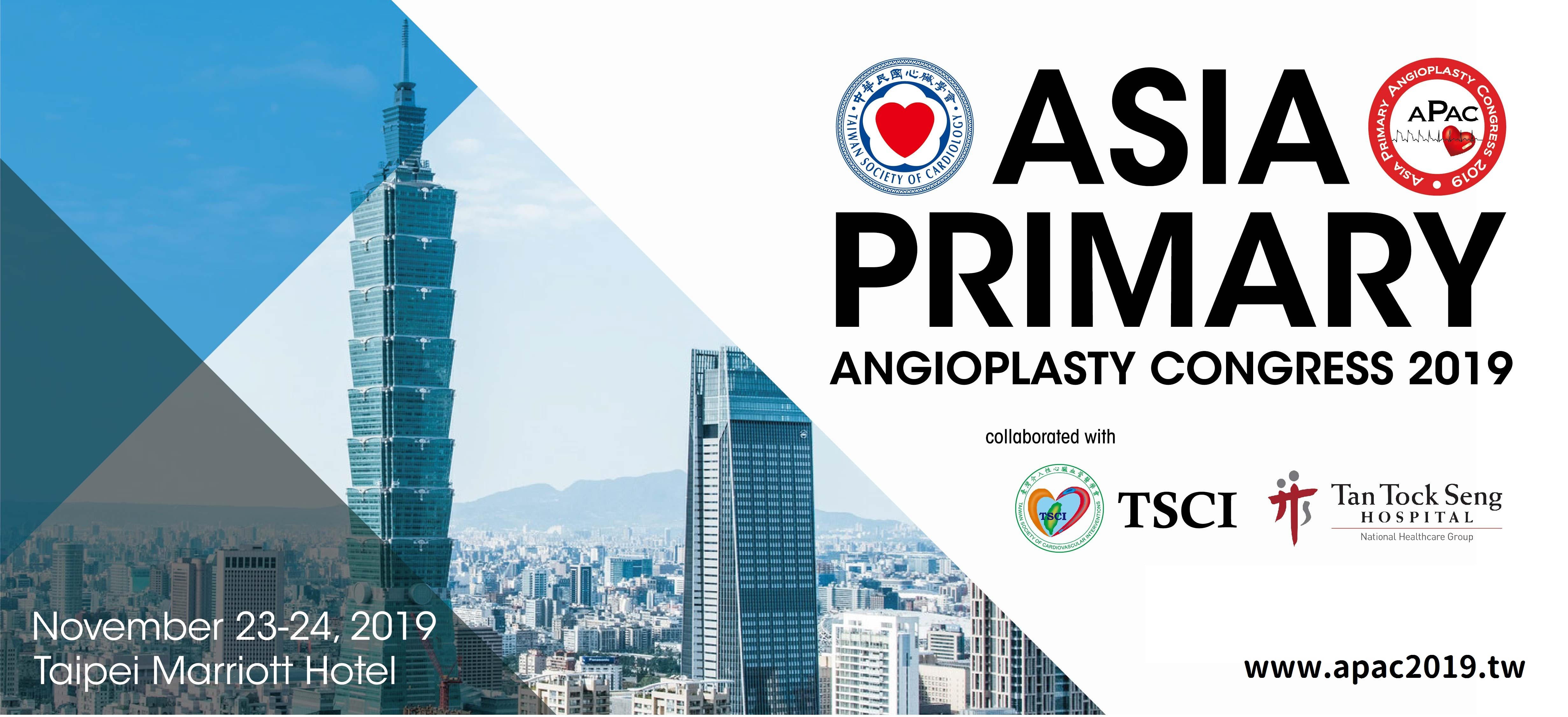 ASIA PRIMARY ANGIOPLASTY CONGRESS 2019